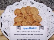 Greek biscuits blog
