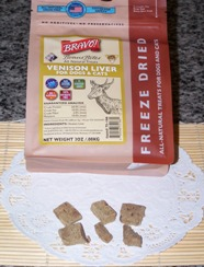 th Bravo!Bonus Bites Freeze dried Venison Liver