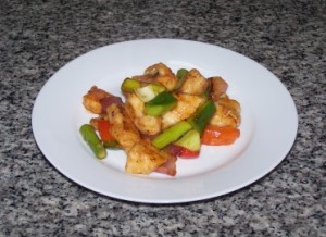 skinny sweet sour chicken