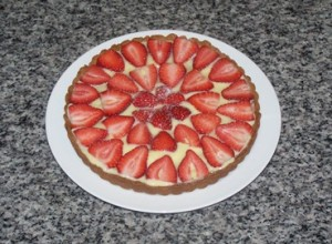 Strawberry tart Feb 15 2016