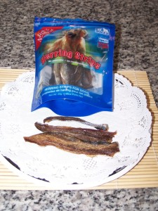Dried Herring strips blog